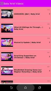 Baby Ariel musical.ly Fan App poster