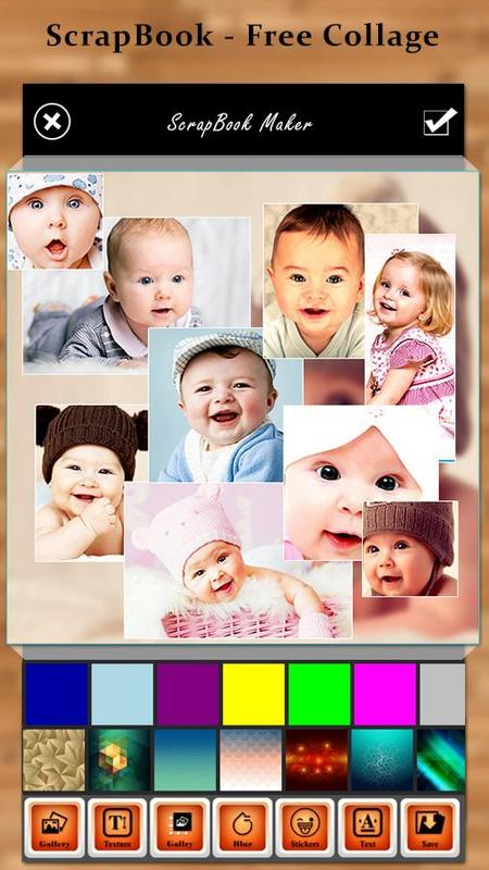 baby photo collage maker apk