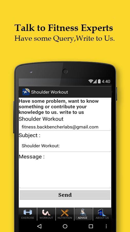 Men's Shoulder Workout for Android - APK Download