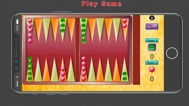 Backgammon 2018 screenshot 2