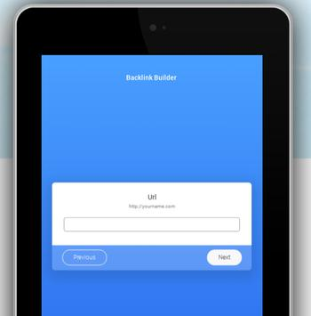 Backlink Builder apk screenshot
