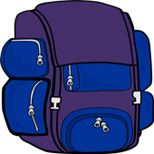Backpacking icon