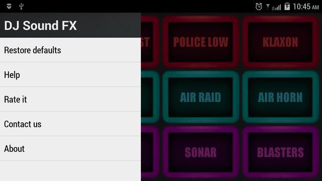 DJ Sound FX screenshot 2