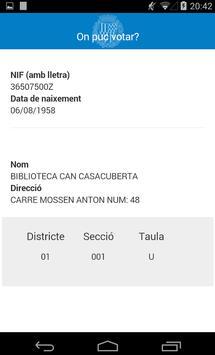Badalona  -  On puc votar? apk screenshot