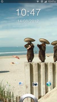 Badger Musicale Live Wallpaper poster