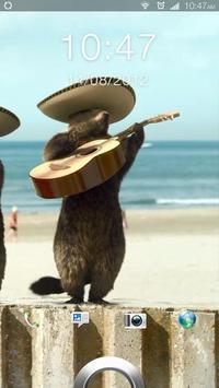 Badger Musicale Live Wallpaper apk screenshot