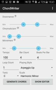 ChordWriter apk screenshot