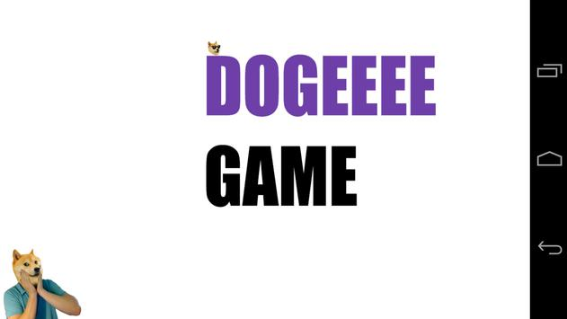 Dogeeee poster