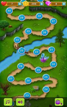Veggies vs. Monsters - Match 3 apk screenshot