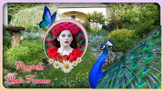 Peacock Photo Frame screenshot 3