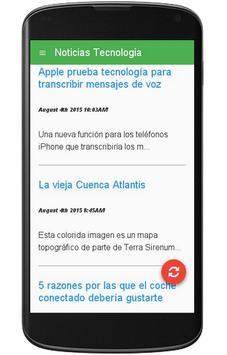 Noticias Tecnologia apk screenshot