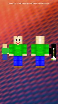 Baldi Skins For MCPE For Android APK Download - Skins para minecraft pe 0 15 6