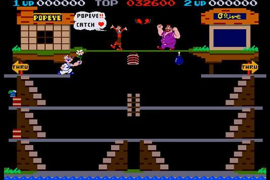 New Popeye 1982 Walkthrough screenshot 3