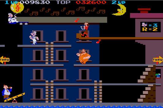 New Popeye 1982 Walkthrough screenshot 1