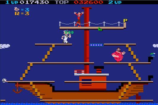 New Popeye 1982 Walkthrough screenshot 2