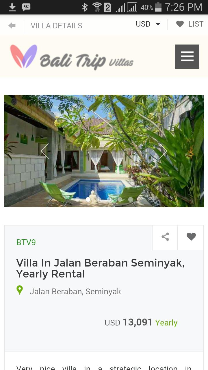 Bali Villas For Rent Daily And Long Term Rental For Android Apk Download