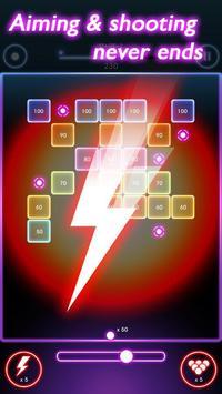 Neon Balls Shooter : Ballz Bricks Breaker screenshot 3