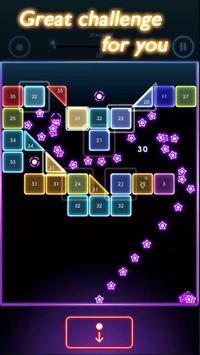 Neon Balls Shooter : Ballz Bricks Breaker screenshot 1