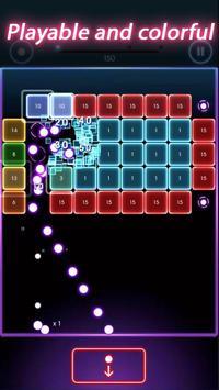 Neon Balls Shooter : Ballz Bricks Breaker screenshot 2