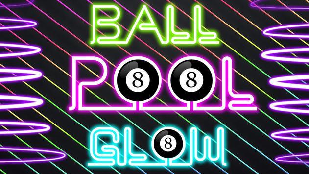 8 Ball Pool Glow poster
