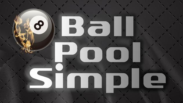 8 Ball Pool Simple poster