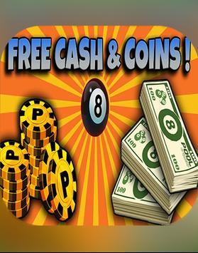 Coins for 8 ball pool prank screenshot 1