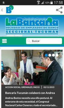 Bancaria Tucuman 2.1 apk screenshot
