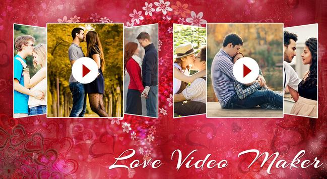 💖 😍Love Video Maker💖 😍 poster