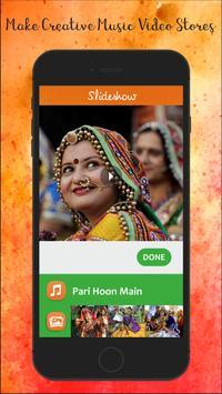 Navratri Slideshow Maker With Music poster