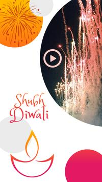 Happy Diwali Video Maker With Music poster
