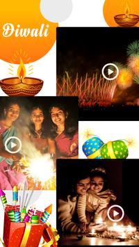 Happy Diwali Video Maker With Music apk screenshot