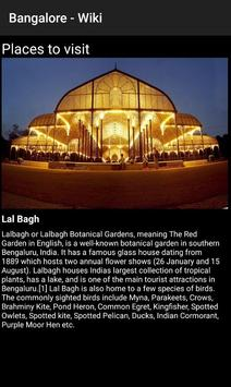 Bangalore - Wiki screenshot 3