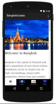 Bangkok Travel Guide poster