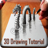 3D Drawing Tutorials icon
