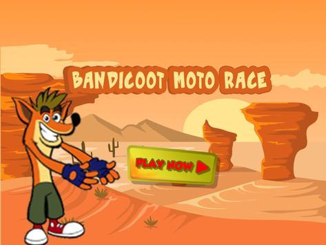 Super Bandicoot Crash 3 and the magic motorcycle screenshot 1