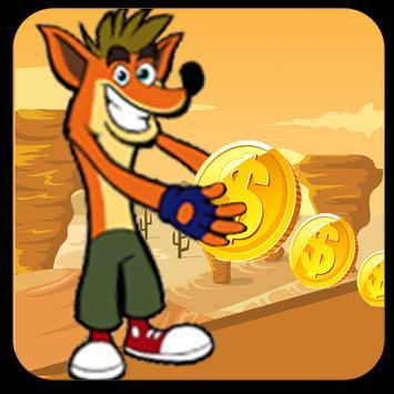 Super Bandicoot Crash 3 and the magic motorcycle screenshot 2