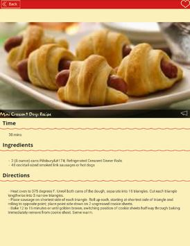 Bread and Pastry Appetizers apk screenshot