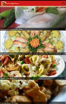 Pasta Appetizers apk screenshot