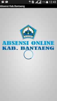 Absensi Online Pemda Bantaeng poster