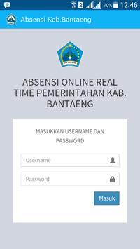 Absensi Online Pemda Bantaeng screenshot 1
