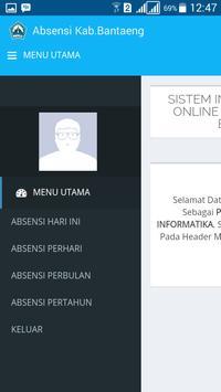 Absensi Online Pemda Bantaeng screenshot 3
