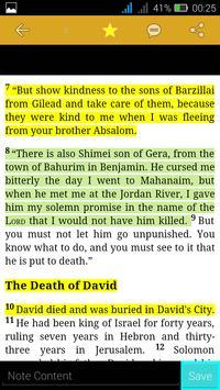 The Good News Bible apk screenshot
