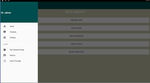 MannageEmployee screenshot 1