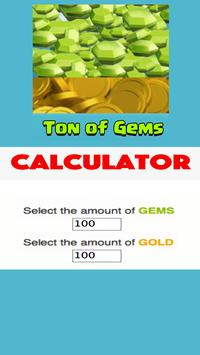 Cheats for Clash of Clans Calc poster