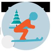 Downhill Ski icon
