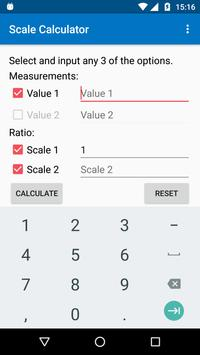 Scale Calculator poster