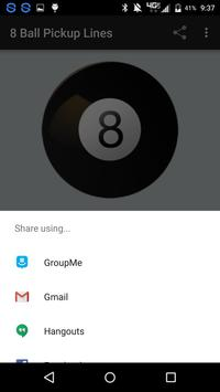 8 Ball Pickup Lines apk screenshot