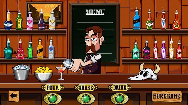 Crazy Bartender Mix Cocktails apk screenshot
