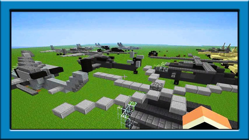 Mega military map minecraft map.
