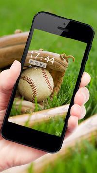 Baseball theme cool brave apk screenshot
